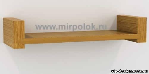 настенные деревянные полки для цветов фото